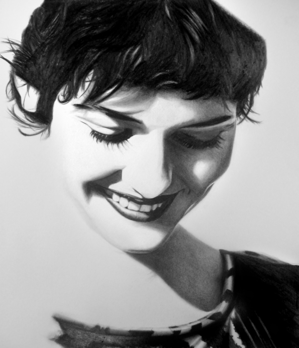 Audrey Tautou par PencilPerfect
